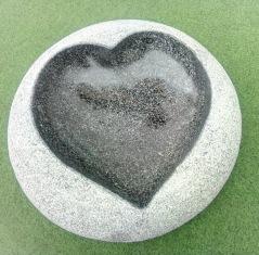 Fågelbad i granitsten, fågelbad natursten
