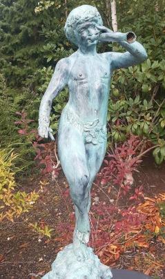 Trädgårdskonst bronz