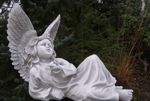 Trädgårdskonst ängel