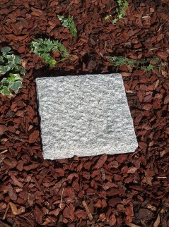 trampsten till trädgården, steppingstone