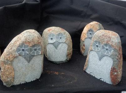 Uggla i granit, Sten uggla