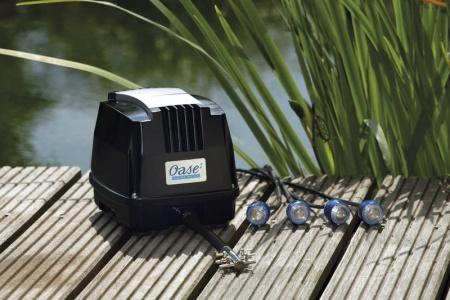 syrepump luftpump till dammen, Oase Aquaoxy 4800