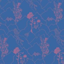 Print_Mountain Collection_Mountain Blue