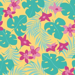 Print_Tropical Yellow_Greiff´s