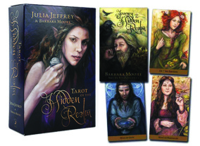 Tarot of The Hidden Realm by Julia Jeffrey, Barbara Moore - In English