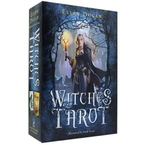 Witches Tarot by Elen Dugan and Mark Evans - In English
