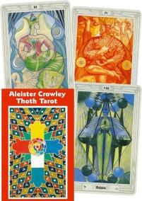 Svensk Alister Crowley Thoth Tarot - På Svenska