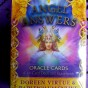 Angel Answers Oracle Cards by Doreen Virtue - In English Angel Answer Oracle Cards