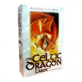 The Celtic Dragon Tarot Kit (With 78 - Cards)  av D. J. Conway, Lisa Hunt - In English