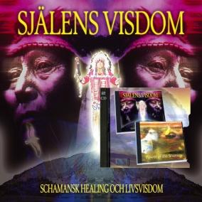 Själens visdom: Medicinhjulet: Power of the shaman, Schamansk Healing och livsvisdom - Bok + 2 CD