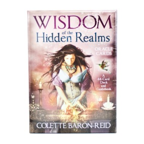 Wisdom of the Hidden Realms Oracle Cards - Colette Baron-Reid - In English