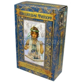 Wizards Tarot by Corrine Kenner, John J Blumen - In English