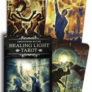 Healing Light Tarot  av Chris Butler