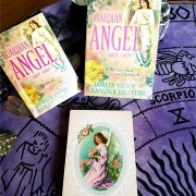 Guardian angel tarot cards - a 78-card deck and guidebook  by Doreen Virtue, Radleigh Valentine