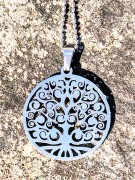 Tree of Life necklace in stainless steel