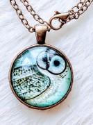 Pendant Cabochon - Owl