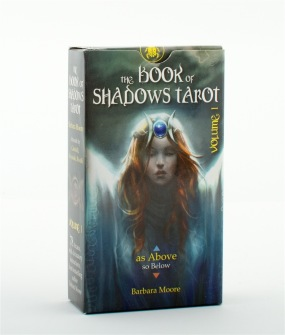 As above - So belov - The book of Shadows Tarot volume I & II  by Barbara Moore - Volume I As Above..