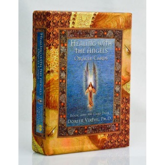 Healing with the Angels Oracle Cards : a 44-Card Deck with Guidebook av Doreen Virtue - In English