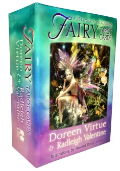 Fairy Tarot Cards: A 78-Card Deck and Guidebook by Radleigh Valentine -