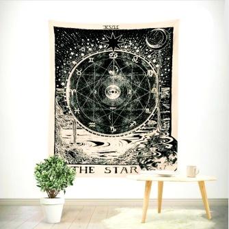 The Star Tarot Table Cloth - Bordsduk -