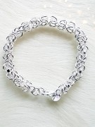 925 sterling silver bracelet with multiple chains