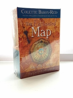 Enchanted Map Oracle Cards by Colette Baron-Reid - In English