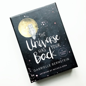 The Universe Has Your Back  A 52-card Deck by Gabrielle Bernstein - In English