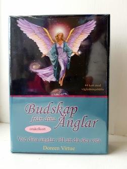 Budskap från dina änglar orakelkort av Doreen Virtue - På Svenska