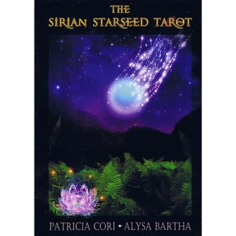 The Sirian Starseed Tarot  by Patricia Cori - In English