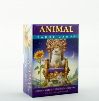 Animal Tarot Cards  A 78-Card Deck and Guidebook av Doreen Virtue, Radleigh Valentine - In English