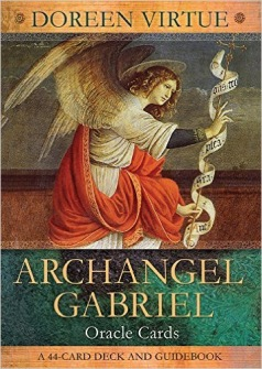 Archangel Gabriel Oracle Cards: A 44 card deck by Doreen Virtue - In English