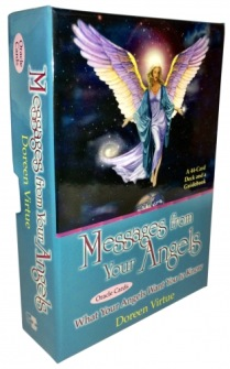 Messages from your angels oracle cards by Doreen Virtue - In English