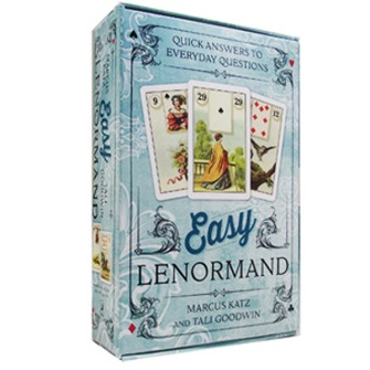 Easy Lenormand  Quick Answers to Everyday Questions by Marcus Katz, Tali Goodwin - In English