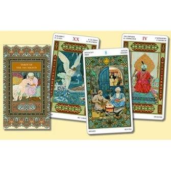 Tarot of the 1001 Nights  Tarot Deck by Bepi Vigna - In English