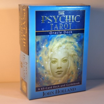 The Psychic Tarot Oracle Cards: A 65-Card Deck, Plus Booklet! by John Holland - In English