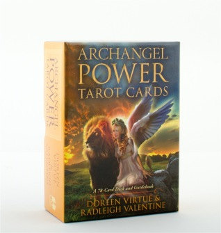 Archangel Power Tarot Cards  A 78-Card Deck and Guidebook av Radleigh Valentine - In English