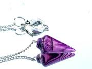 Pendulum Purple Onyx Agate