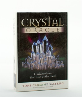 Crystal Oracle  Guidance from the Heart of the Earth Book and Oracle Card Set by Toni C Salerno, Toni Carmine Salerno -