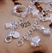 925 sterling silver charm bracelet