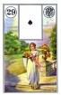 Mlle Lenormand 194115 Fortune Telling Cards by Piatnik Mlle