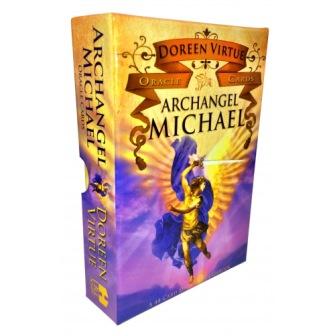 Archangel Michael Oracle Cards  A 44-card Deck and Guidebook av Doreen Virtue -