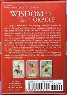 Wisdom of the Oracle Divination Cards - BIG SIZE - in