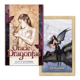 Oracle of the Dragonfae  Oracle Card and Book Set by Lucy Cavendish -