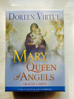 Mary Queen of Angels oracle Cards by Doreen Virtue -