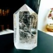 Quarts Crystal Obelisk ca 800 gram