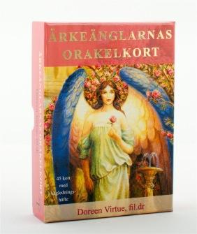 Ärkeänglarnas orakelkort  av Doreen Virtue -