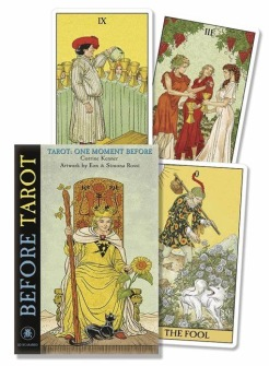 Before Tarot, One Moment Before by Corrine Kenner, Pietro Alligo, Floreana Nativo - Kit - Book and Cards