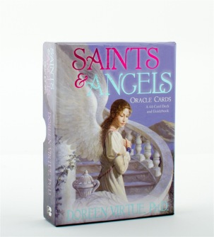 Saints And Angels Oracle Cards by Doreen Virtue -
