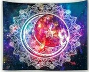 Sun, Moon, Star Mandala - Table Cloth - Bordsduk