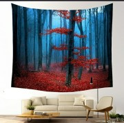 Forrest in the Fall - Table Cloth - Bordsduk
